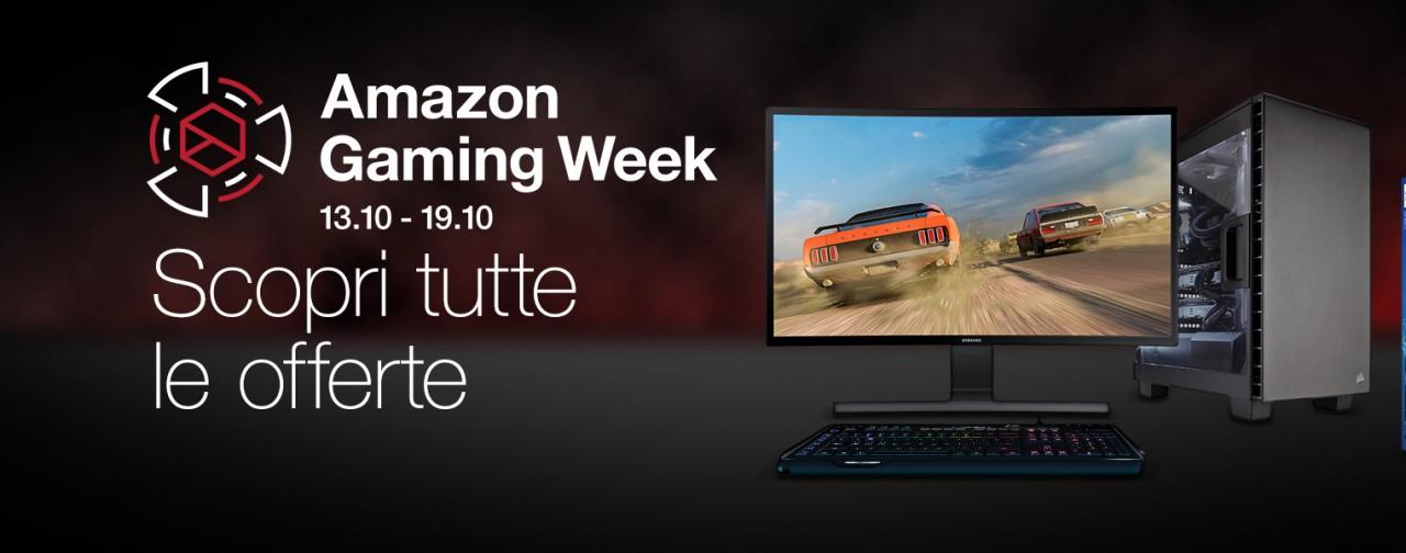 Offerte Amazon Gaming Week: le migliori di oggi 15 ottobre