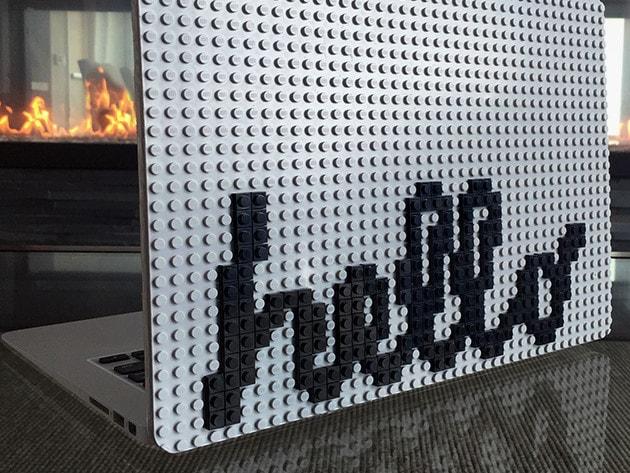 Brik Book Lite, la cover Lego per tutti i laptop o quasi (video)