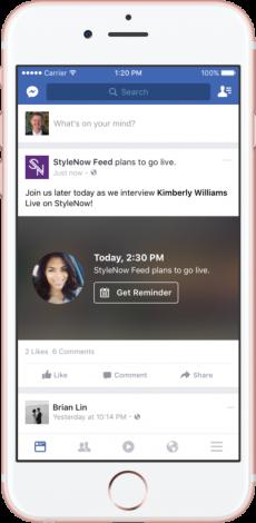 facebook live programmati 2