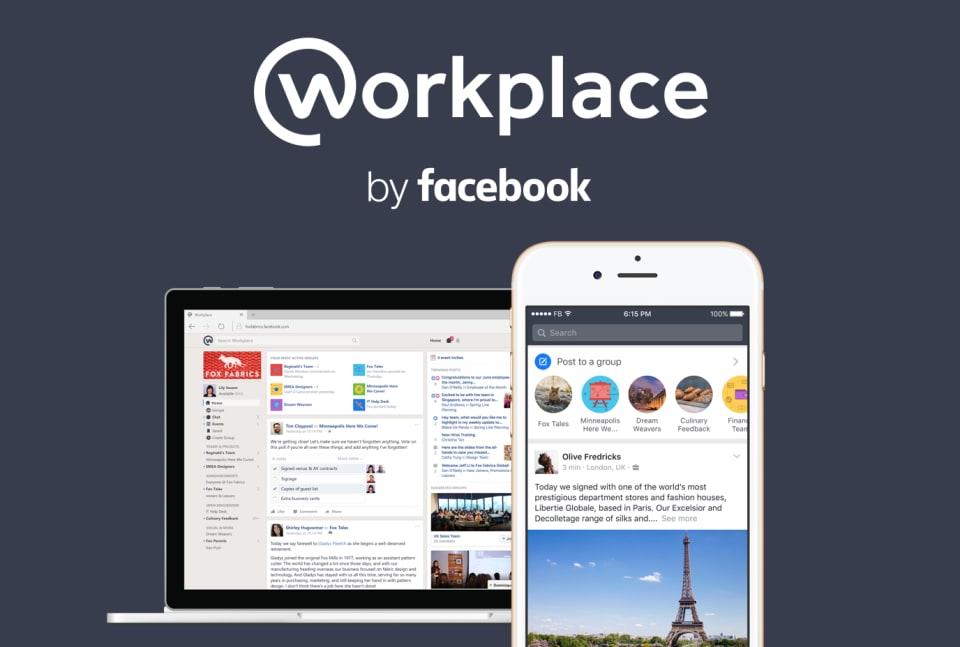 Workplace, l'app di Facebook per le aziende è finalmente disponibile per tutti (foto)