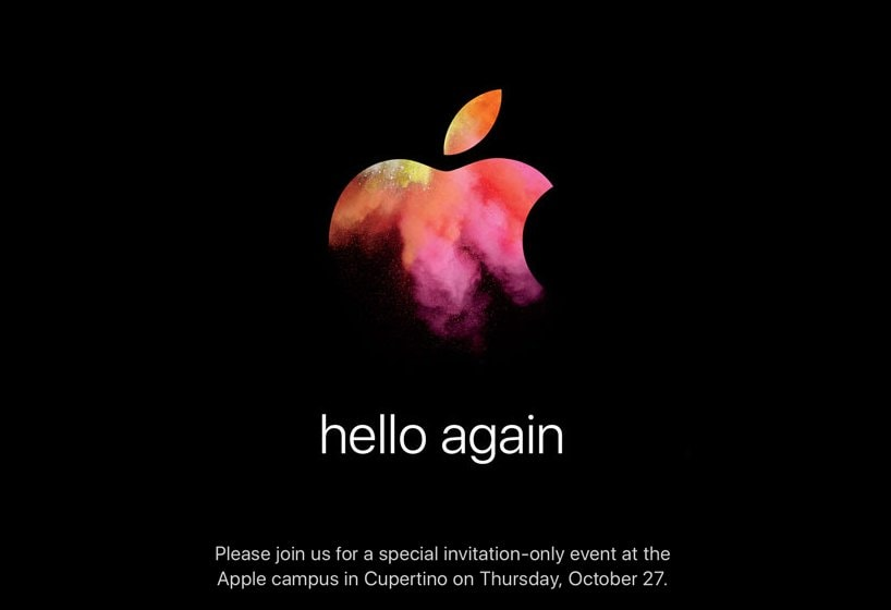 hello again evento apple