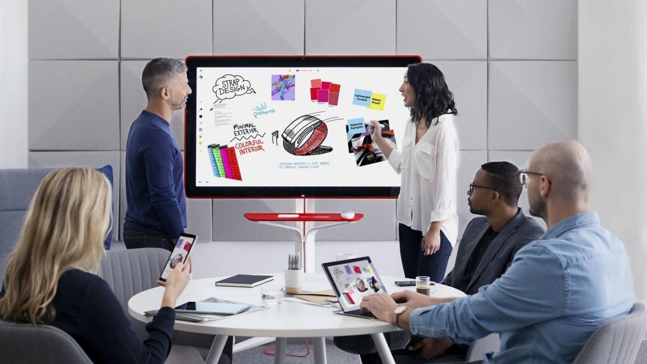 Jamboard, disponibile (negli States) la lavagna smart di Google per gli ambienti creativi (foto e video)