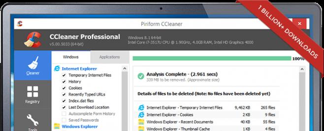 pulizia registro jv16 PowerTools ccleaner