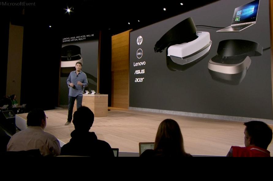 """Microsoft annuncia """"HoloLens"""" da 299$, prodotti da Lenovo, HP, Dell, ASUS, Acer"""