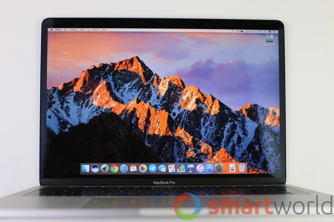 MacBook Pro 2016 (senza Touch Bar)
