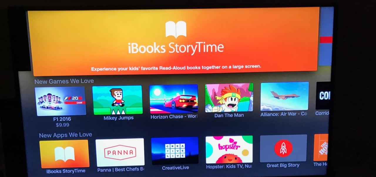 Apple TV insegnerà ai bambini a leggere con iBooks StoryTime (foto)