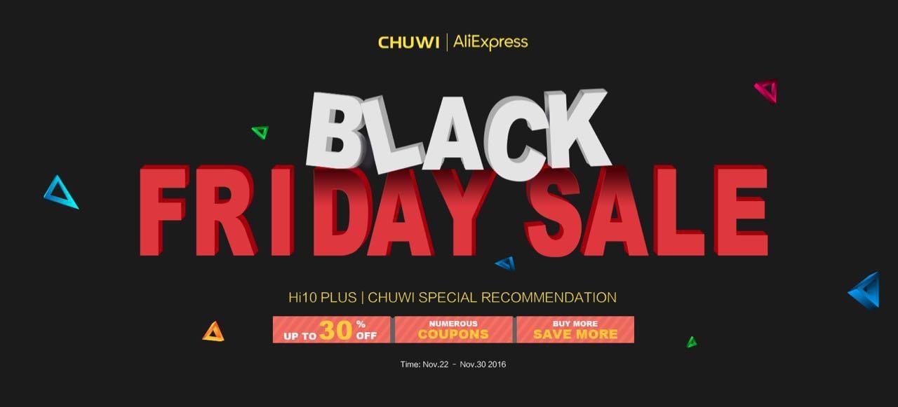 Black Friday Chuwi: una settimana sconti fino al 30% su tablet 2-in-1, ma su quantità limitate