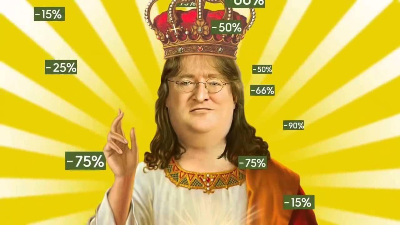 Lord Gaben vuole i vostri soldi: ecco le migliori offerte di Steam per il Black Friday