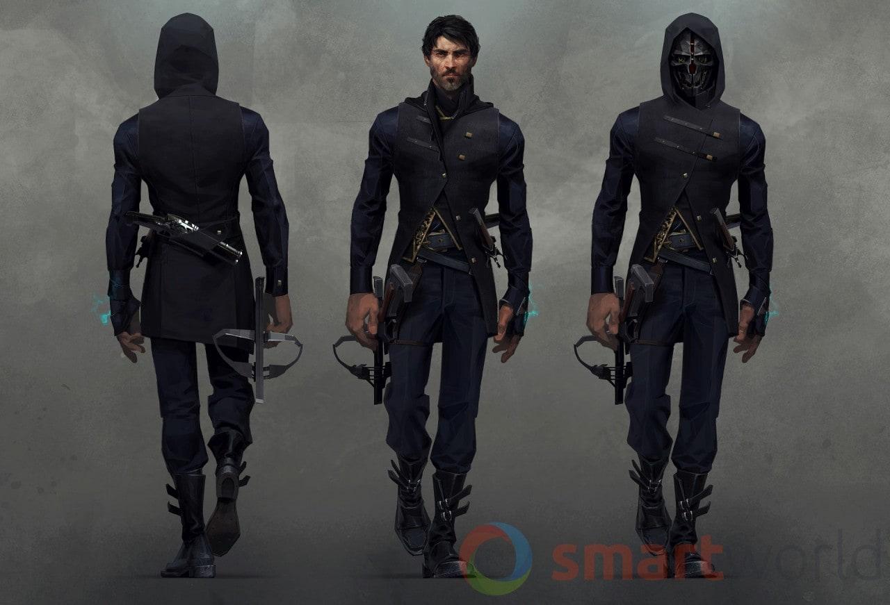 Dishonored 2 - Corvo_costume_01