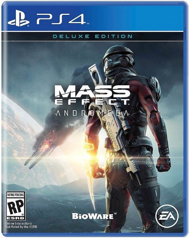 Mass Effect Andromeda Deluxe Edition PS4