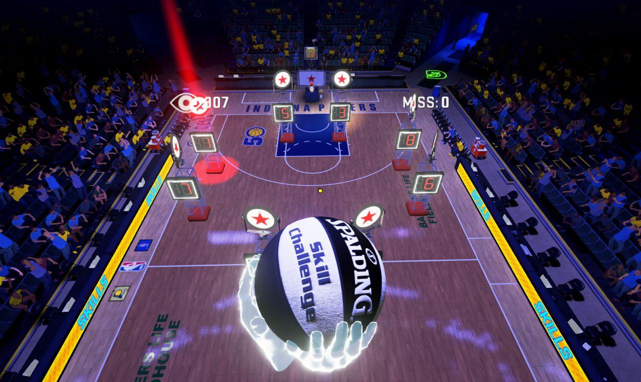 NBA 2KVR Experience, il basket a realtà virtuale disponibile da oggi (video)