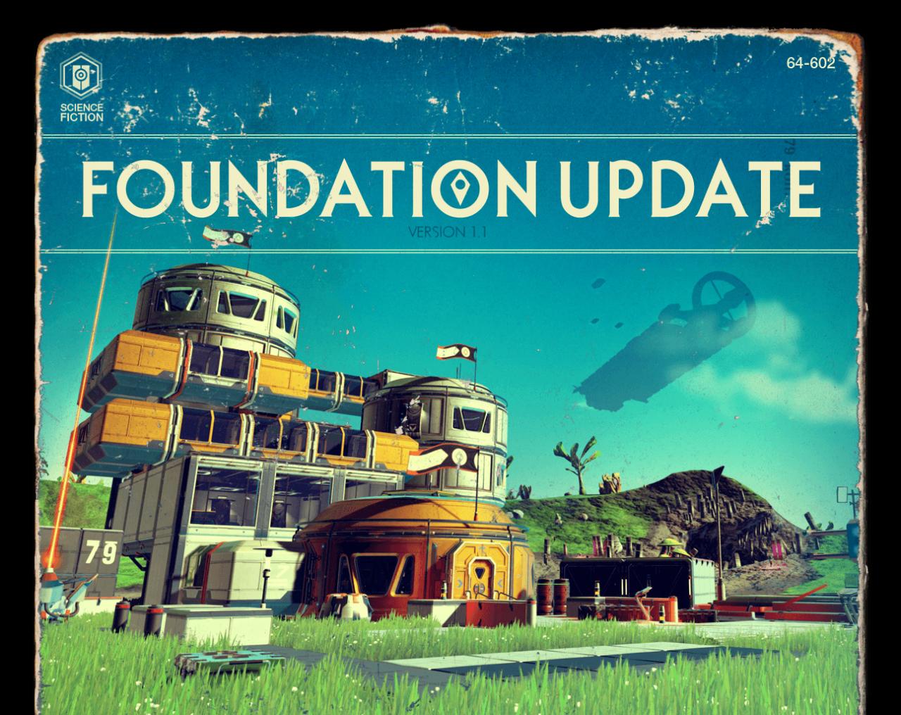 No Man's Sky: arriva il Foundation Update. L'aggiornamento di cui il gioco aveva bisogno? (video)