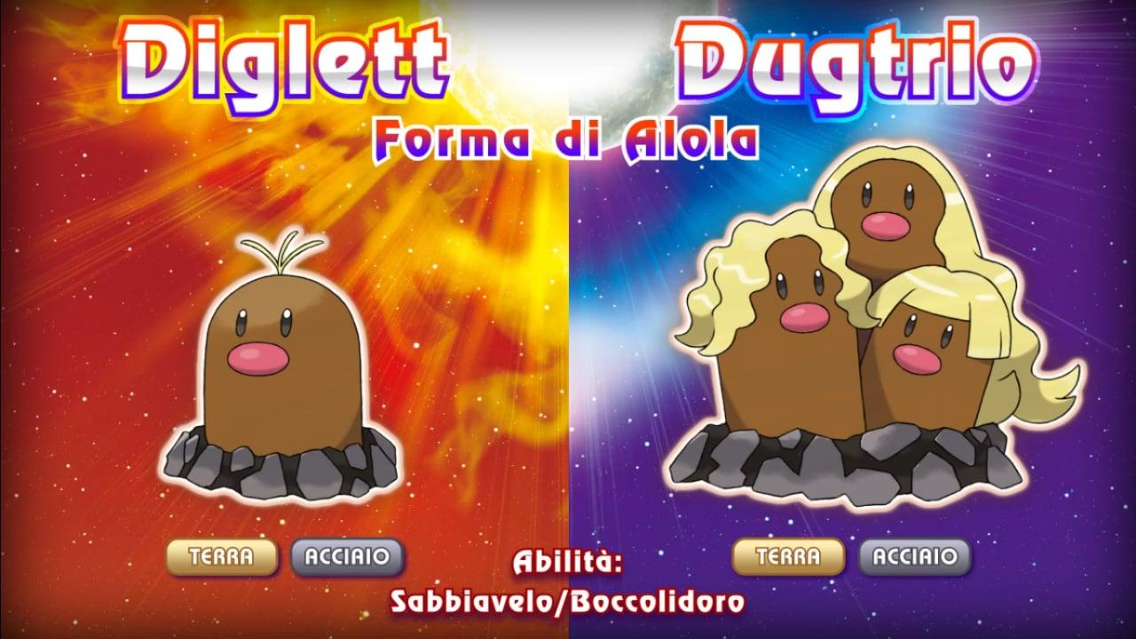 Pokémon Sole e Luna Dugtrio