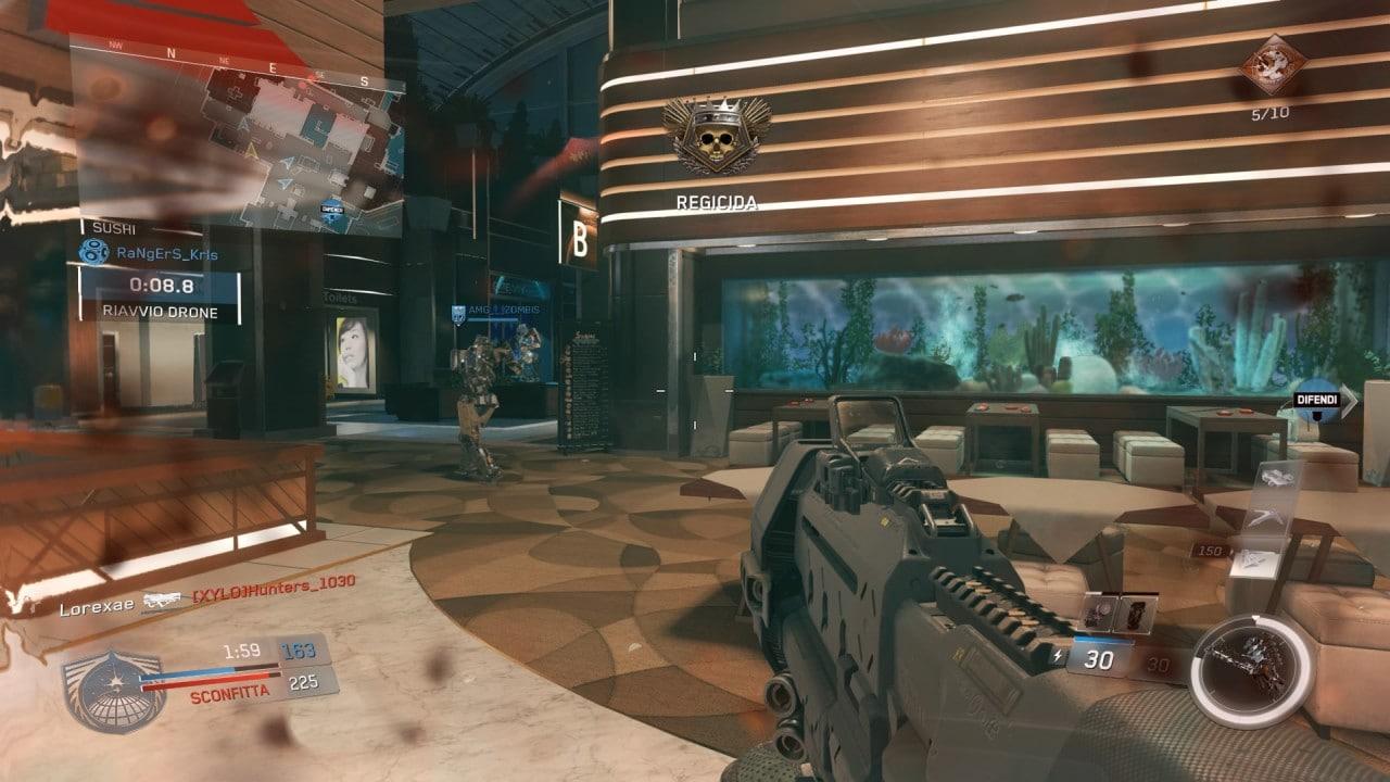Recensione Call of Duty: Infinite Warfare - Tra le mappe multigiocatore torna Terminal, la tanto apprezzata mappa di Modern Warfare 2.