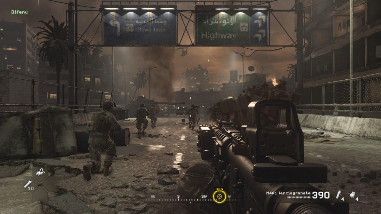 Recensione Modern Warfare Remasterd - Il sergente Paul Jackson farà molto presto una brutta fine...