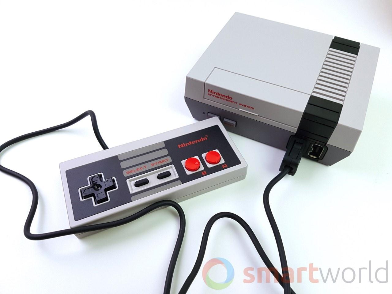 Recensione Nintendo Classic Mini NES - Il cavo del controller è davvero troppo corto, solo 80 centimetri di lunghezza.