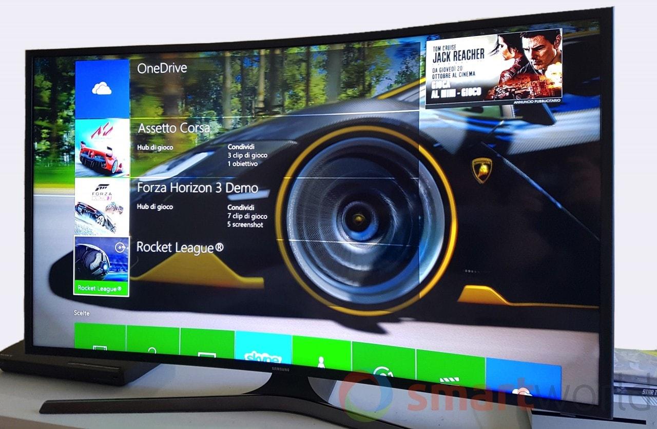Recensione Xbox One S - Interfaccia - 1