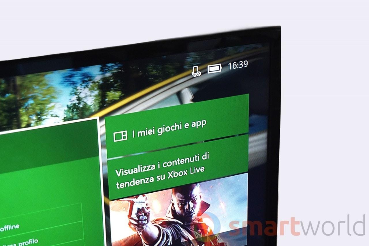 Recensione Xbox One S - Interfaccia - 21