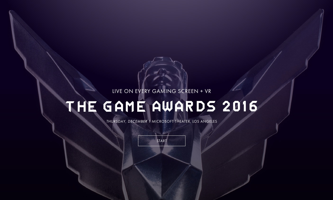 The Game Awards 2016, tutte le nomination