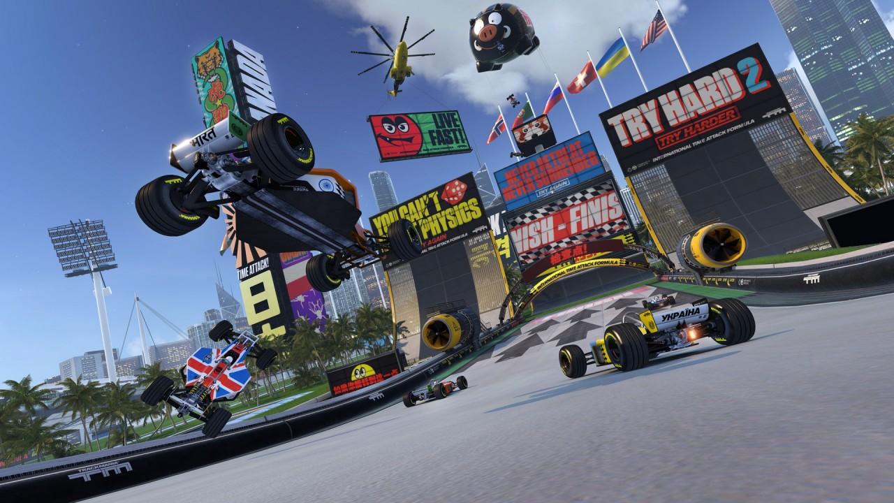 TrackMania Turbo si aggiorna gratuitamente per la realtà virtuale su PlayStation e PC! (video)