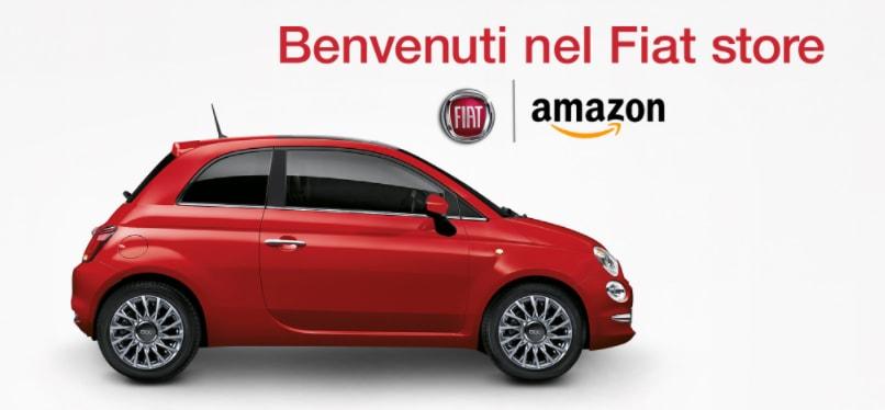 """La vostra prossima Fiat la potete comprare su Amazon, """"con uno sconto speciale"""""""