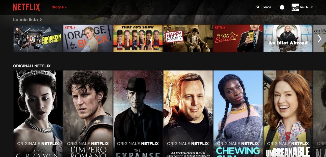 Netflix rinnova la sua interfaccia web: vi piace?