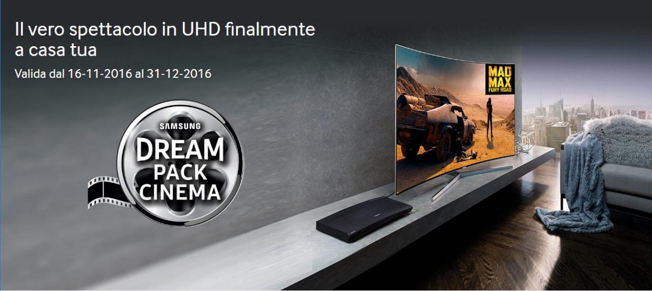 Samsung punta sull'UHD e regala tre film con l'acquisto di un lettore Blu-Ray