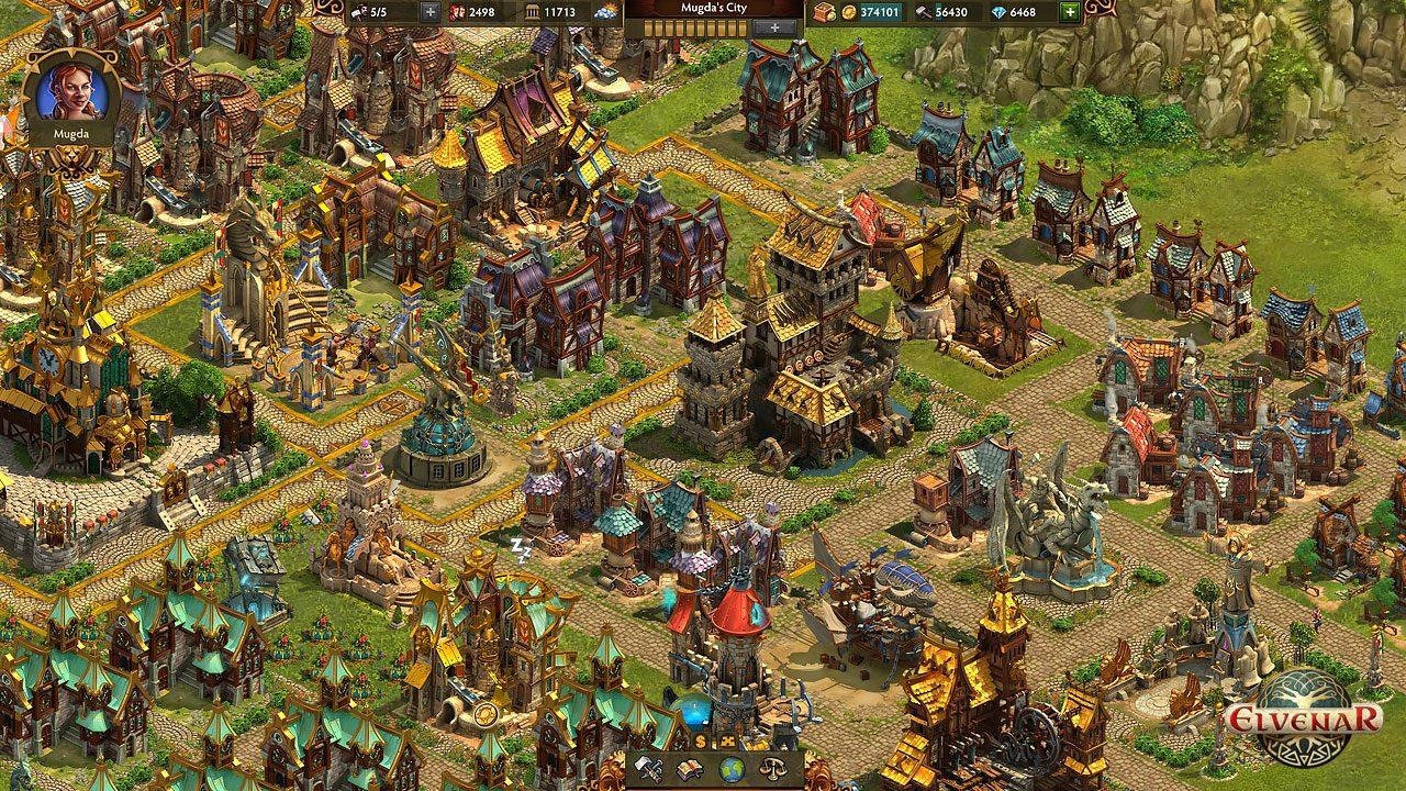 Elvenar, uno dei più recenti browser game di InnoGames.