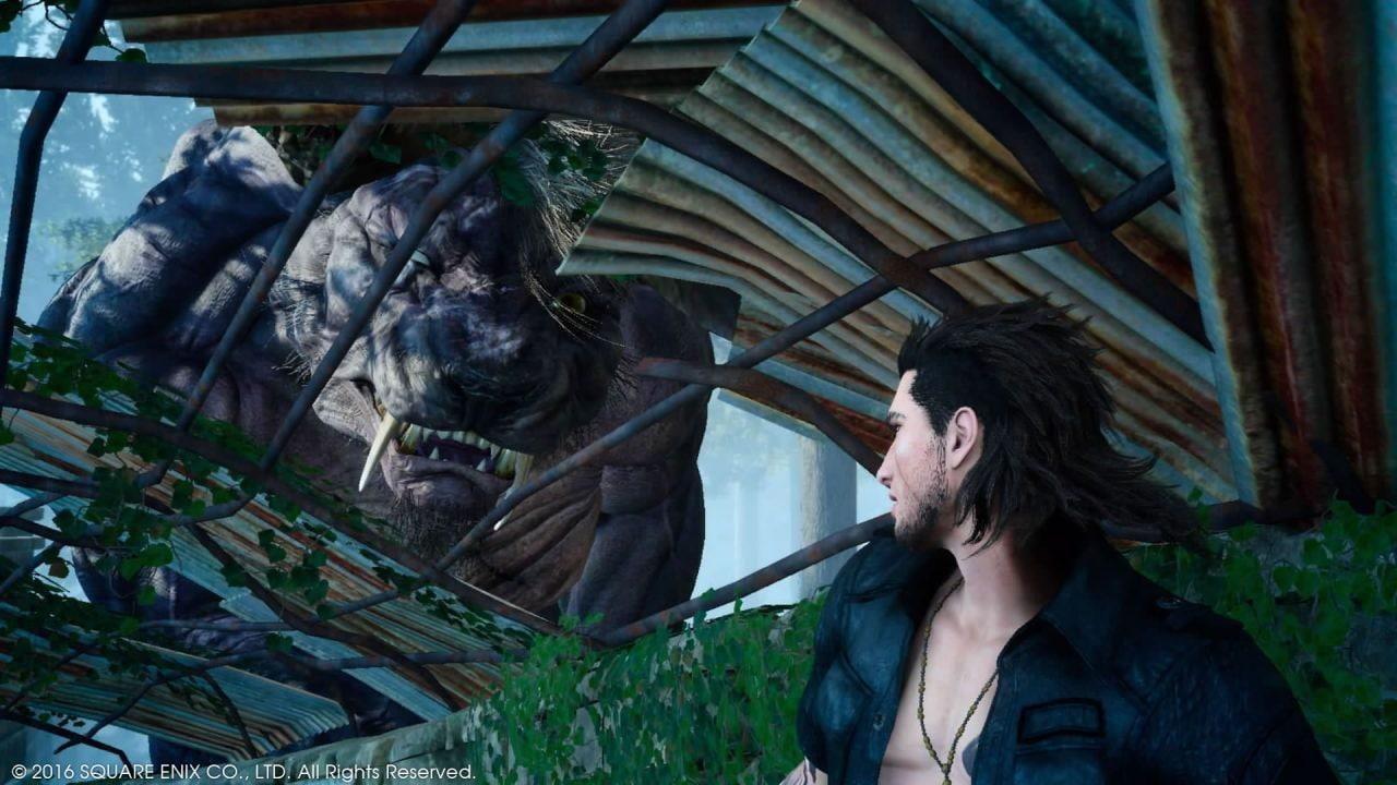 Recensione Final Fantasy XV - Il Behemoth Deadeye, lo incontreremo durante la missione per sbloccare i chocobo.