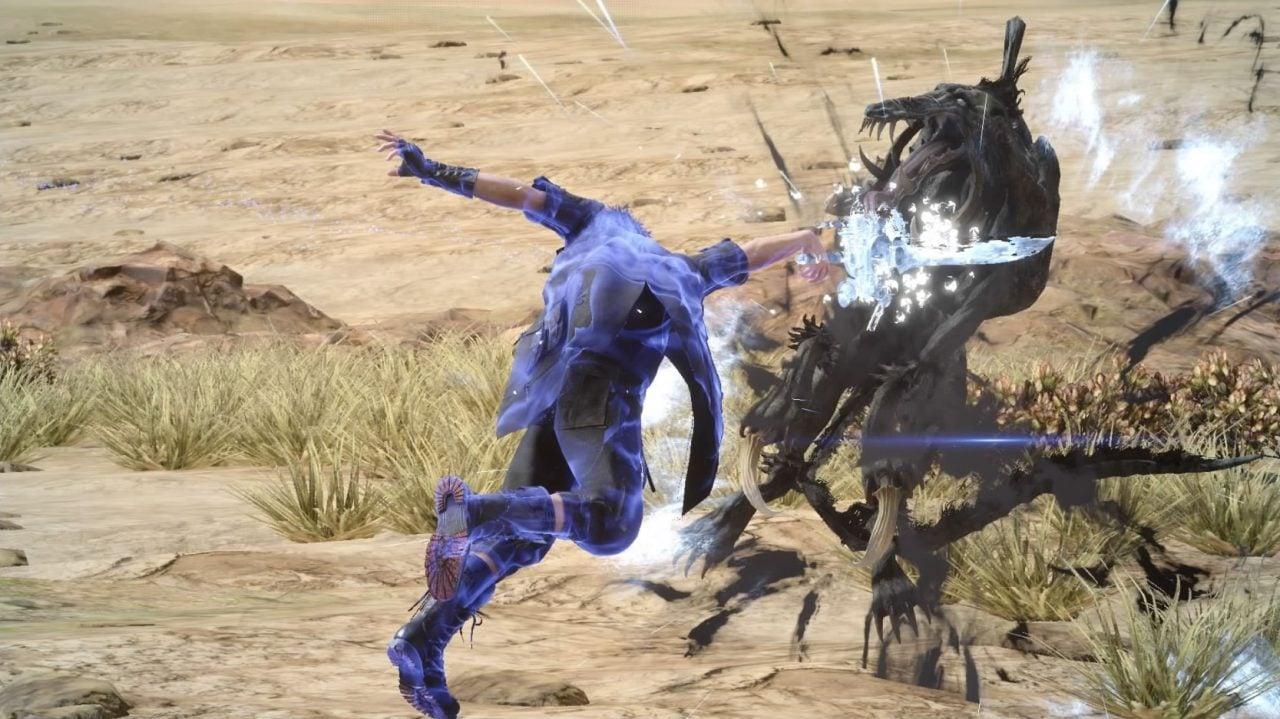 Recensione Final Fantasy XV - Le proiezioni, se sfruttate al momento giusto, possono causare danni devastanti agli avversari.