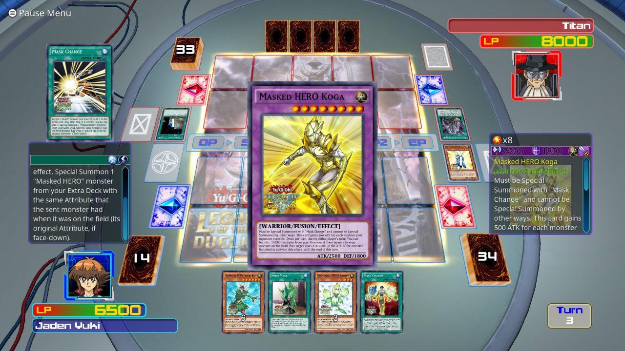 Yu-Gi-Oh! Legacy of the Duelist disponibile su Steam a 19,90€(foto e video)