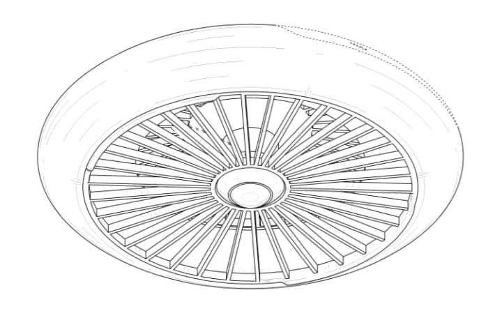Samsung ha brevettato un drone che sembra un disco volante! (foto)