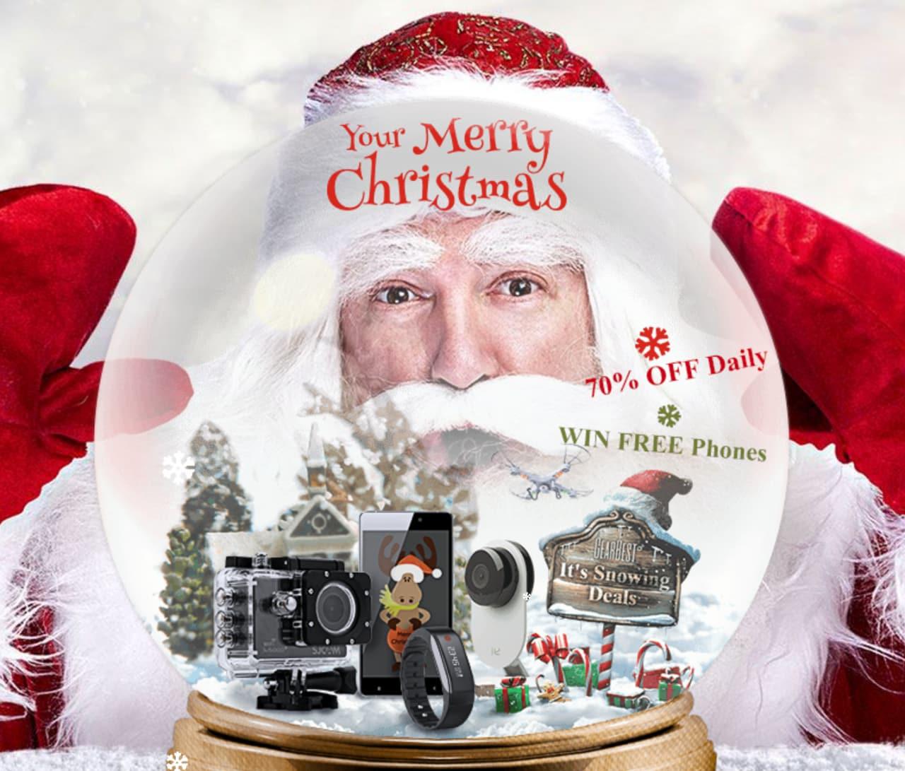 Offerte Natale GearBest: si parte con smartphone, gadget Xiaomi e tanto altro