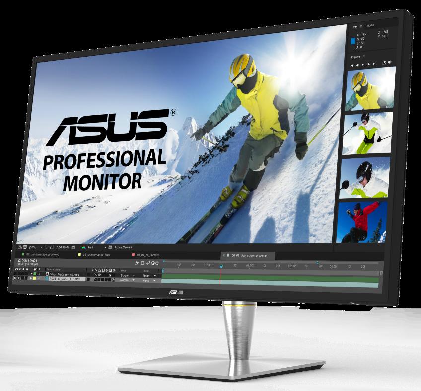 ASUS ProArt PA32U: monitor 4K per i professionisti dell'editing foto e video