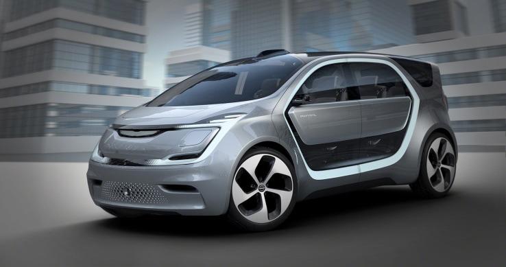 Fiat Chrysler presenta Portal, il proprio concept di auto a guida autonoma (foto)