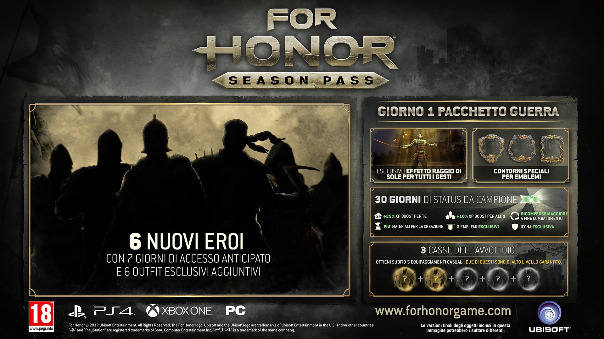 for-honor-season-pass