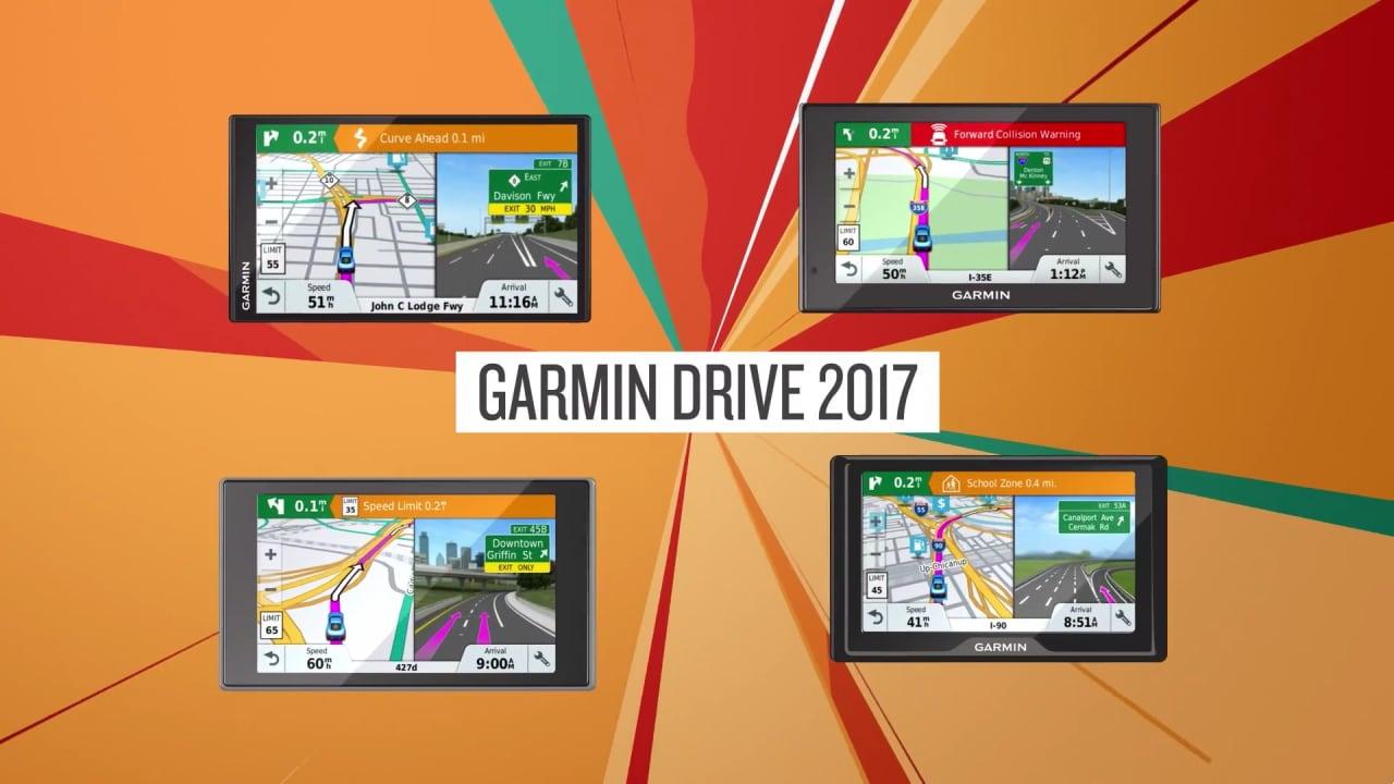 Garmin svela la nuova linea Drive 2017: funzionalità smart, dash cam integrata e tanto altro