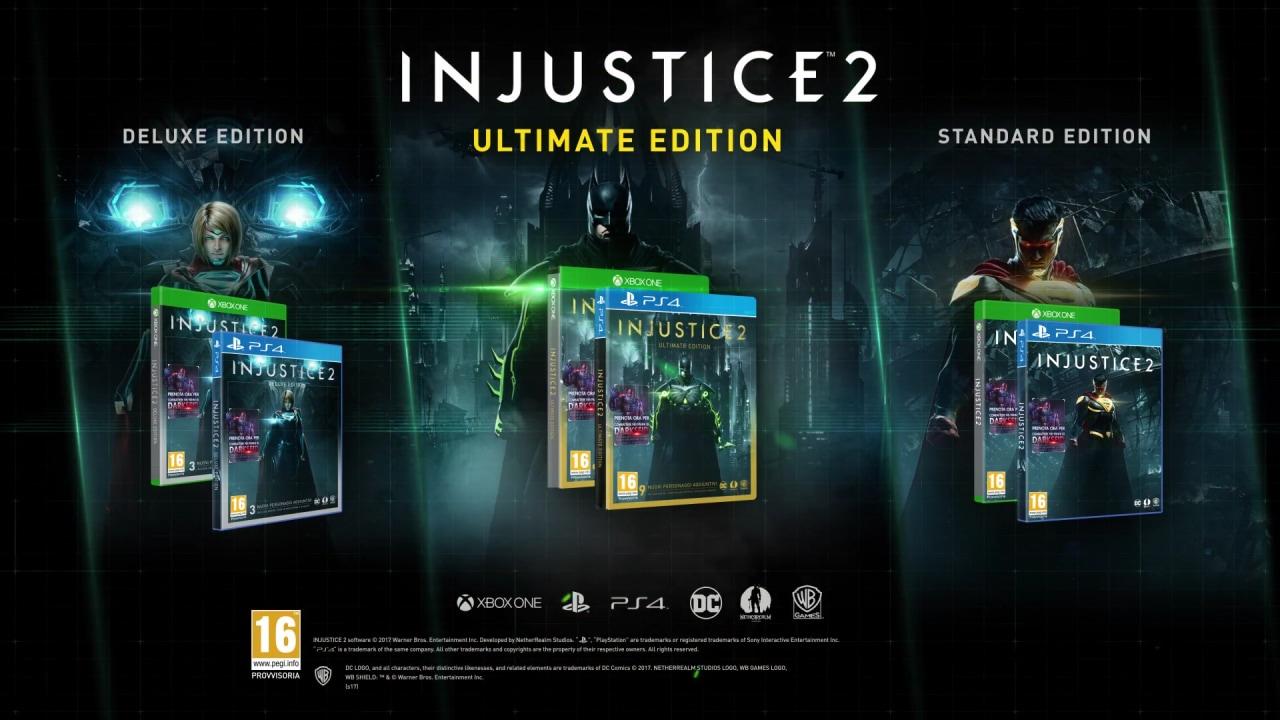 Injustice 2 si mostra con uno story trailer