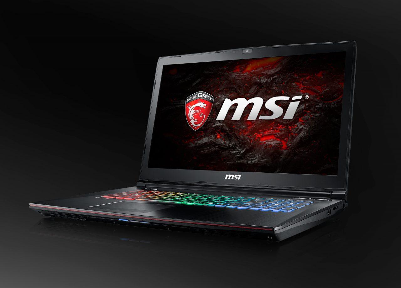 MSI GE72 e GE62: i notebook gaming con Kaby Lake e GTX 1050 arrivano in Italia (foto)