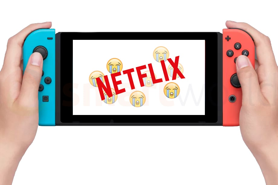 Scordatevi Netflix (e non solo) su Nintendo Switch, almeno inizialmente