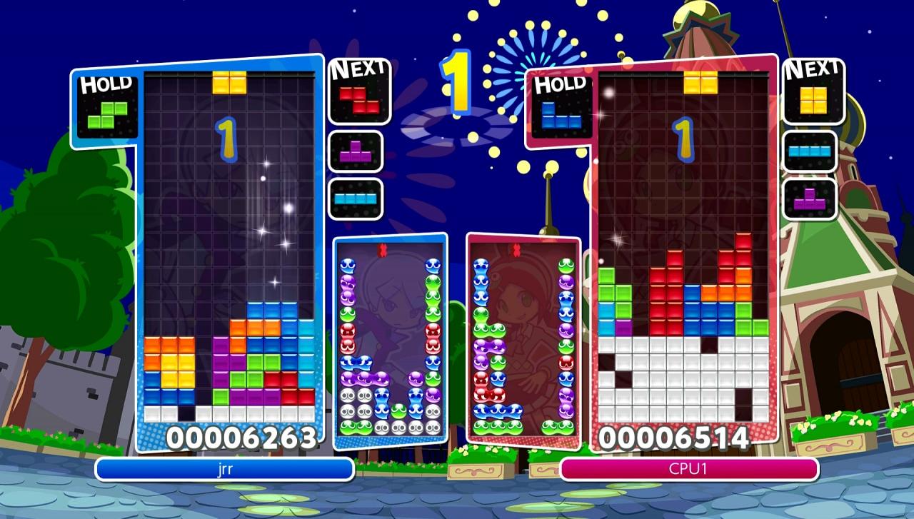 Anche Puyo Puyo Tetris si avvicina al lancio, ecco ben 4 video tutorial per imparare a giocare