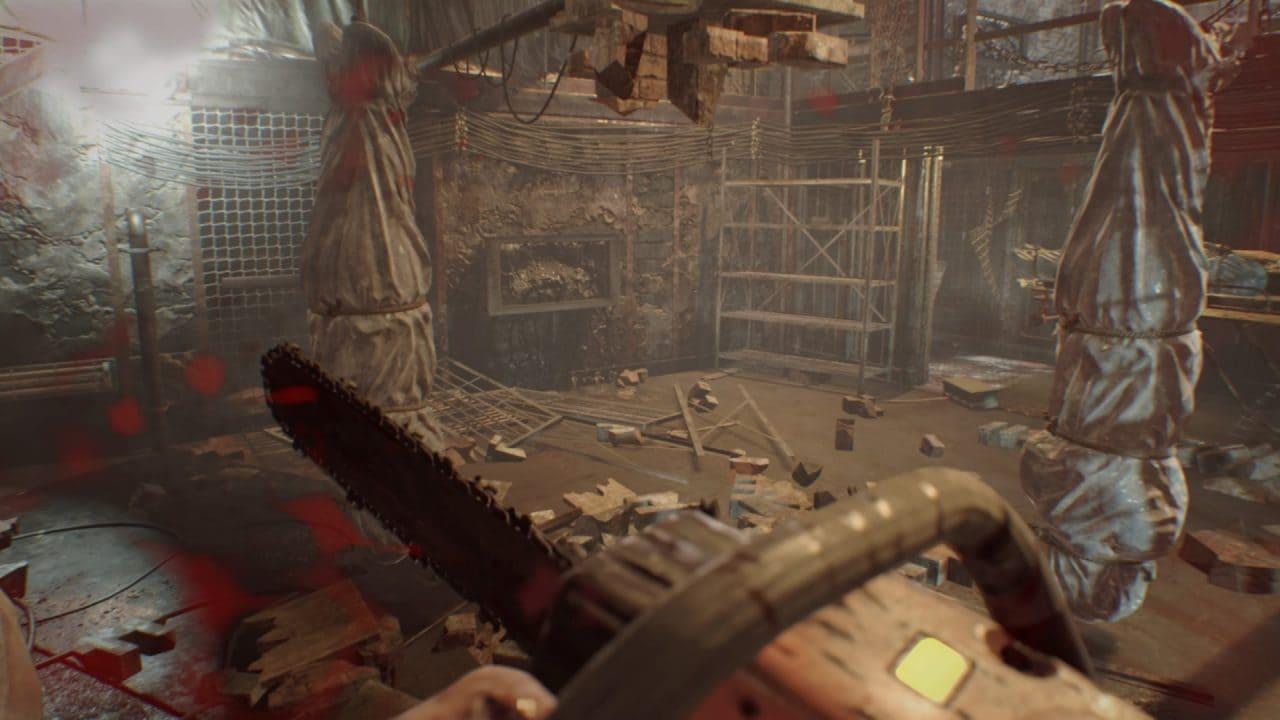 Resident Evil 7 Biohazard - Quando si pensa alle motoseghe la memoria vola verso DOOM. Ma RE7 non è un FPS.