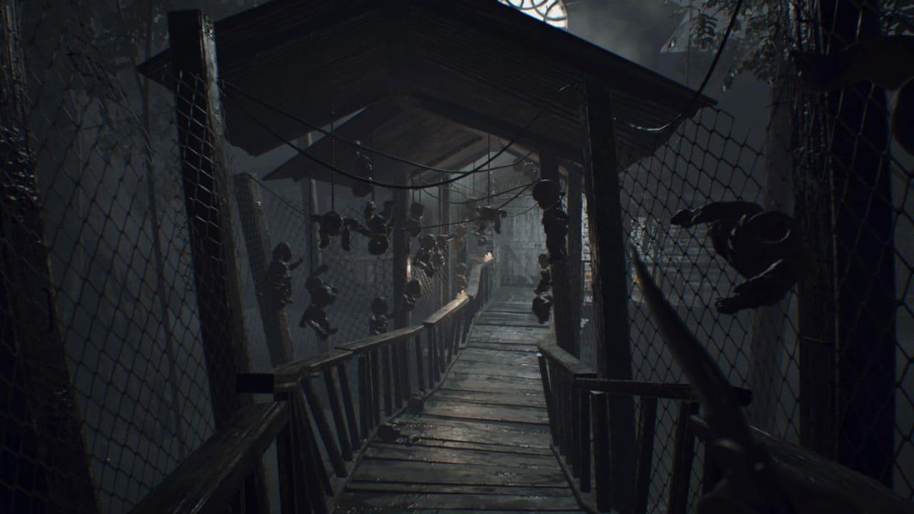 Recensione Resident Evil 7 Biohazard - Un'altra delle tante location accoglienti della residenza Baker.