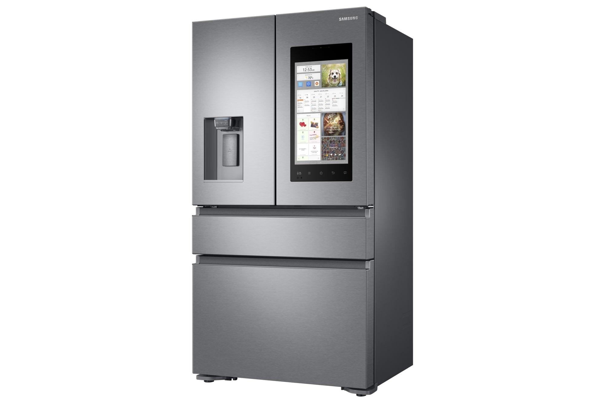 Cucina smart samsung nuovo frigo family hub 2 0 e molto for Nuovo frigo samsung