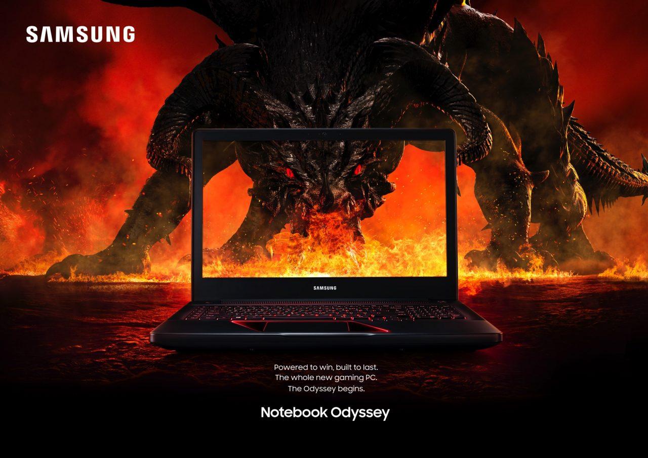 Samsung Odyssey è il primo portatile gaming dell'azienda: GTX 1050, fino a 64 GB di RAM e Kaby Lake