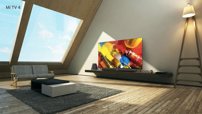 Xiaomi Mi TV 4 è il Mi MIX modulare e sottile dei TV 4K (foto e video)