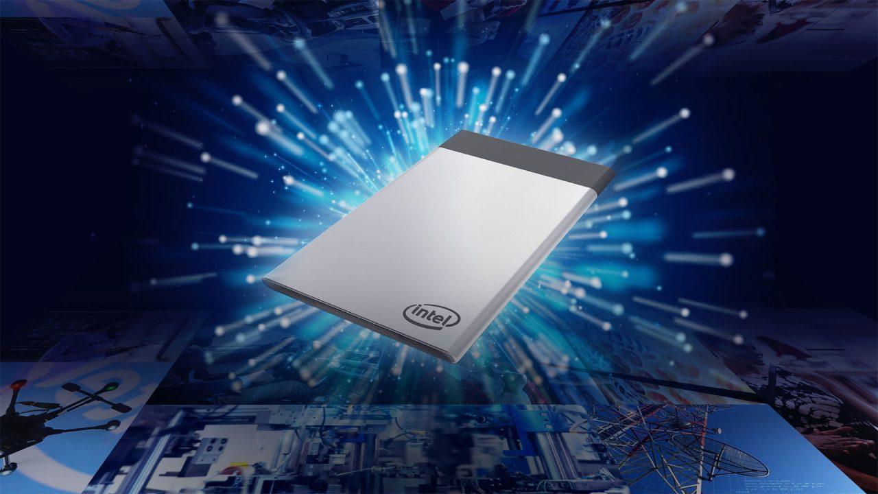 Intel Compute Card: un PC poco più grande di una carta di credito, per dispositivi IoT modulari (foto)