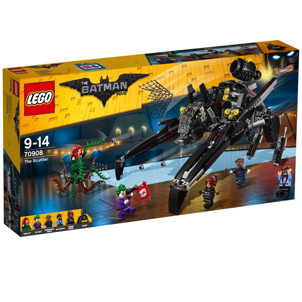 I nuovi set LEGO dedicati a LEGO Batman - Il film sono stupendi (foto)