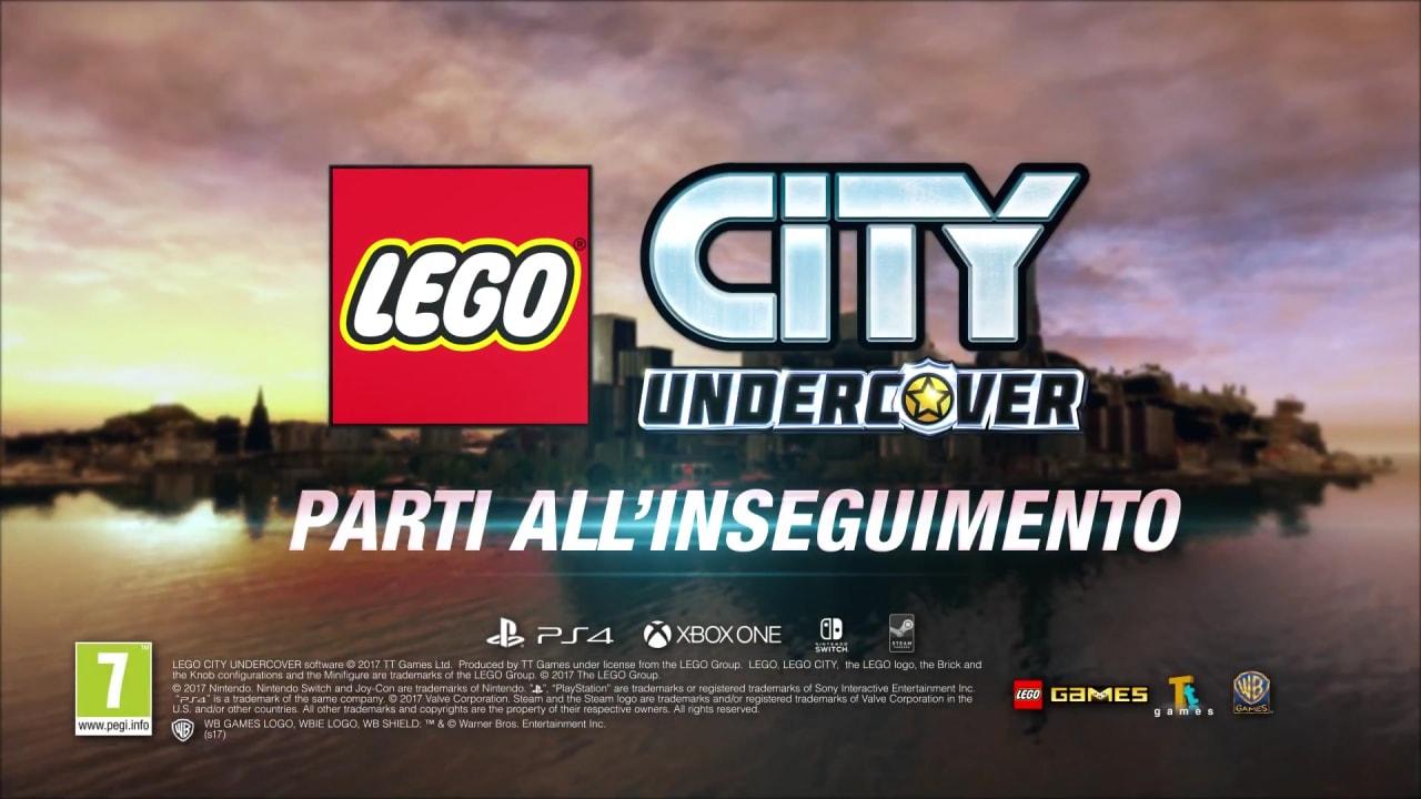 LEGO CITY Undercover su PC, PS4, Xbox One e Switch dal 7 aprile, ecco un nuovo trailer!