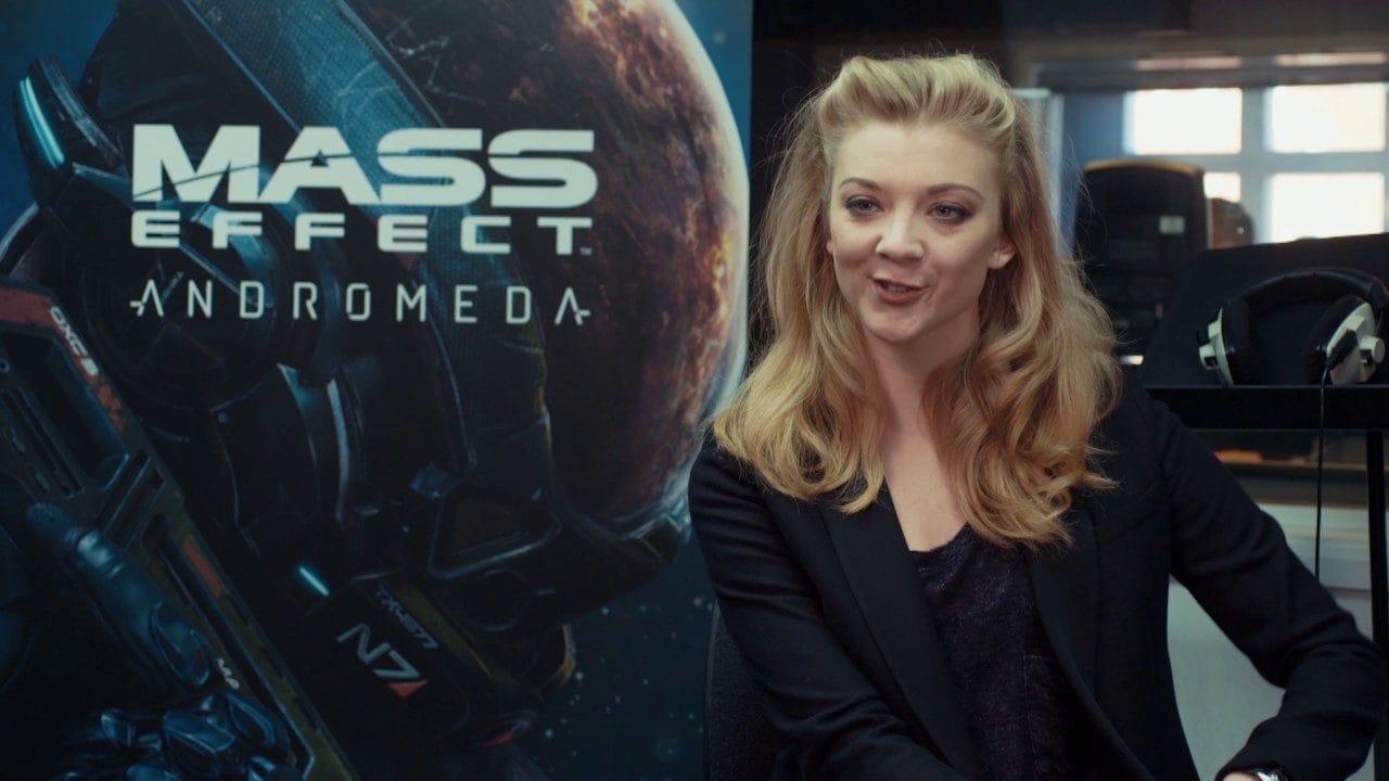 3 nuovi filmati di Mass Effect: Andromeda, c'è anche Natalie Dormer di Game of Thrones!